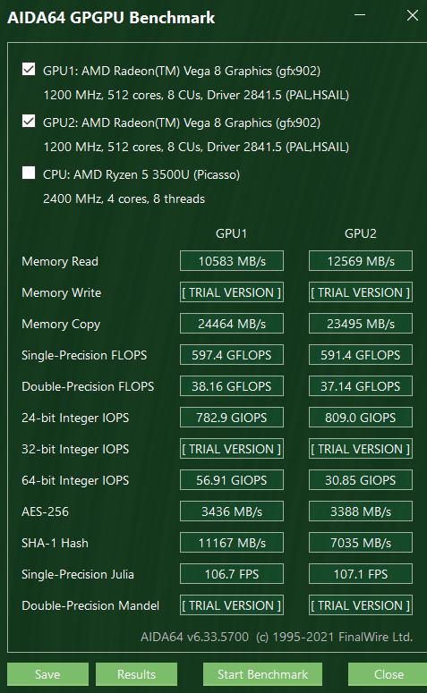 GPGPU测试画面