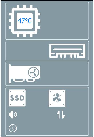 图7:添加CPU温度