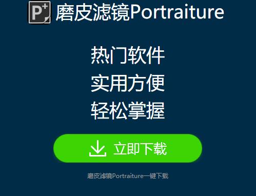 portraiture官网界面