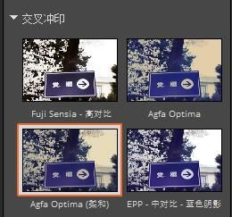 圖 2:Agfa Optima (柔和)