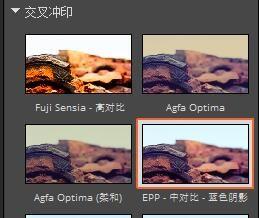 圖2:EPP -中對比 -藍色陰影