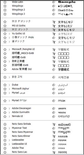 多种语言选择