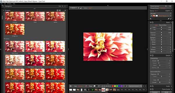 Exposure X4调色滤镜插件中的500个预设模板