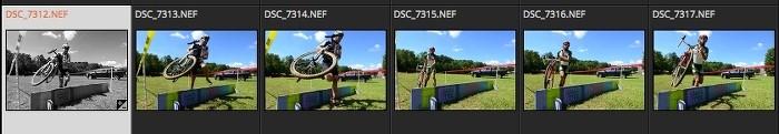 如何在Exposure X4中同步图像?
