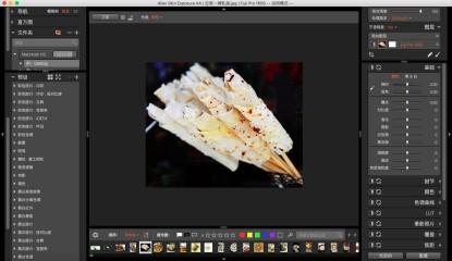 图2 :Alien Skin Exposure软件照片基础参数设置