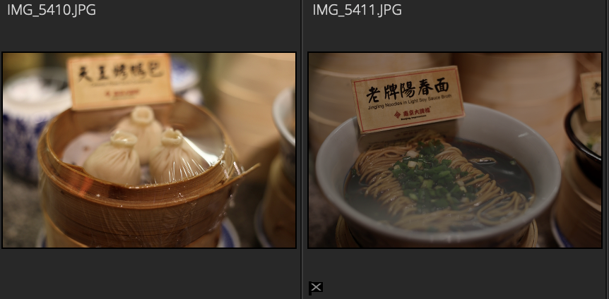圖片3:左邊為正常圖片,右邊為標記剔除圖片