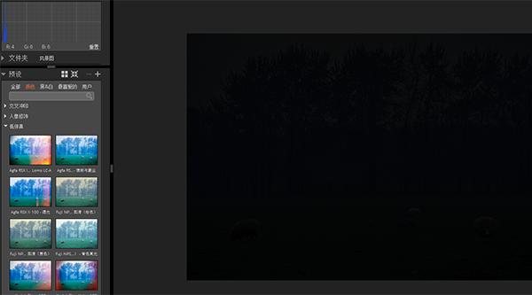 圖四:過暗的極端情況