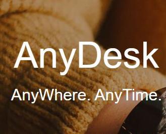 图1:Anydesk远程控制软件