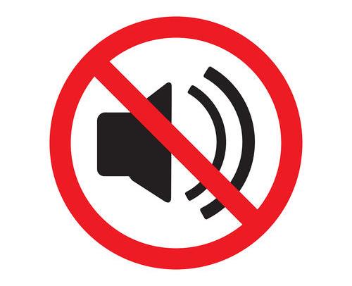 图1:关闭声音