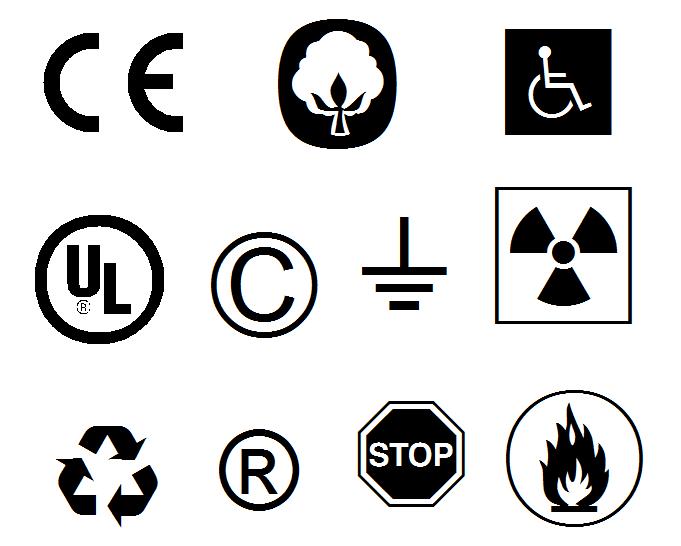 常见符号字体
