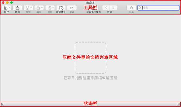 BetterZip軟件界面