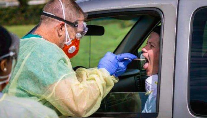 美国肺炎疫情