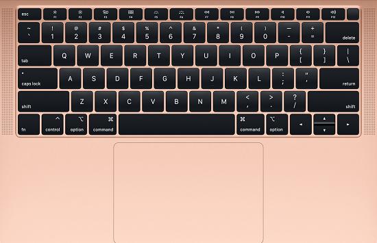mac键盘结构