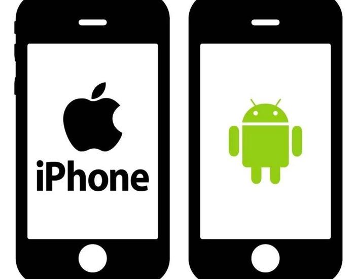 苹果与安卓手机