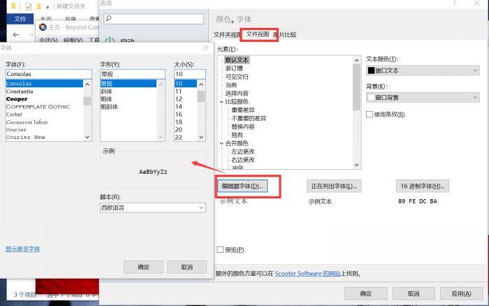 图3:文件视图设置