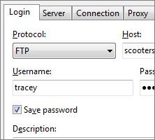Beyond Compare连接FTP服务器