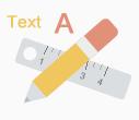 绘制化学结构和文字标记