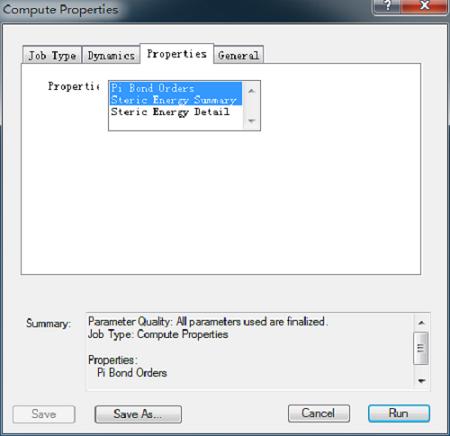Compute Properties对话框