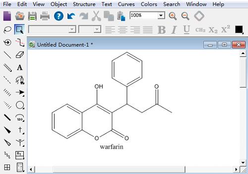 ChemDraw绘制化学分子结构