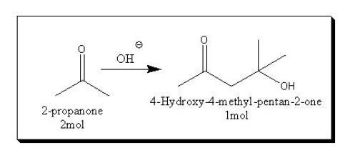 绘制完成的反应方程式