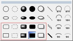 ChemBioDraw图形元素中的方框工具