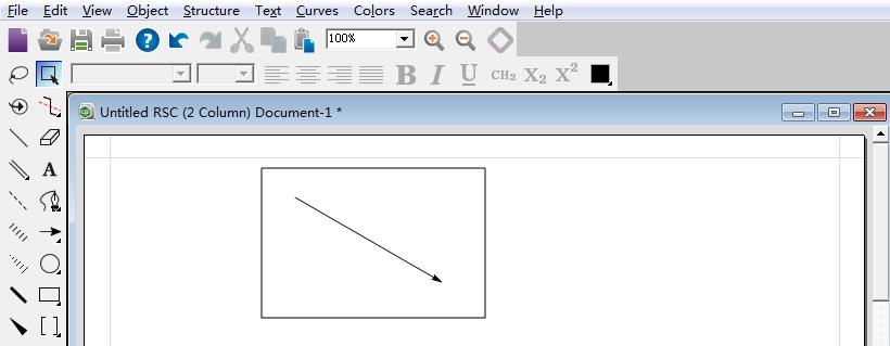 ChemBioDraw绘制基本方框图形