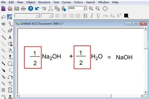 添加分数的化学反应式