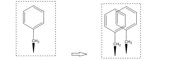 ChemDraw结构复制过程
