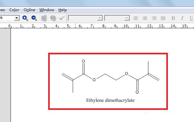 化合物的结构式
