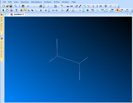 ChemBio3D线状结构模型