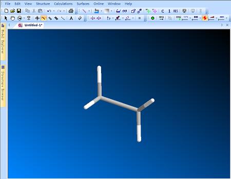 ChemBio3D棒状结构模型