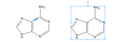 ChemDraw整体结构选择