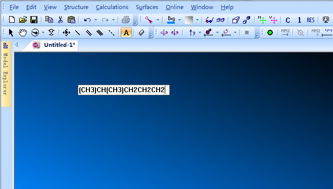 在 Replacement Text框中输入原子标记