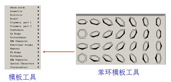 ChemDraw模板工具