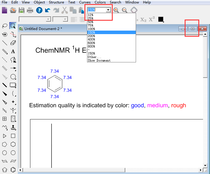 调整氢谱尺寸的两种方法