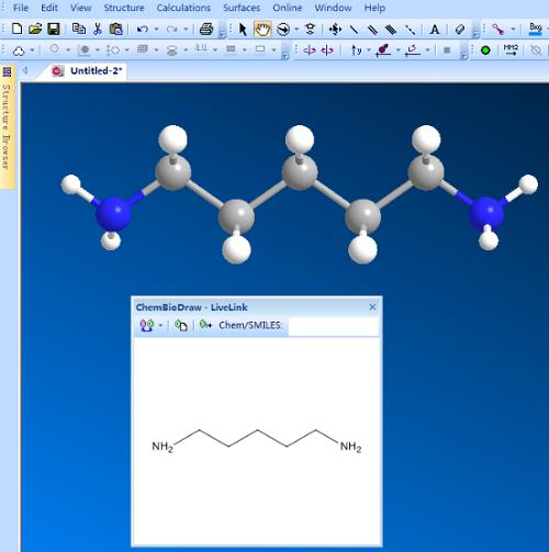 两种尸胺结构式