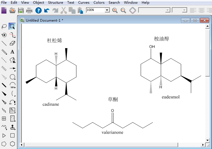 ChemDraw Professional 15绘制萜类化合物