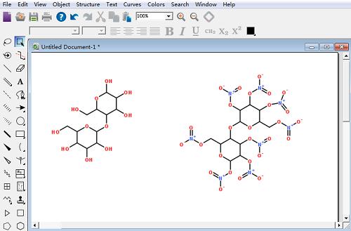 硝化棉化学结构式