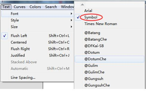 Symbol命令