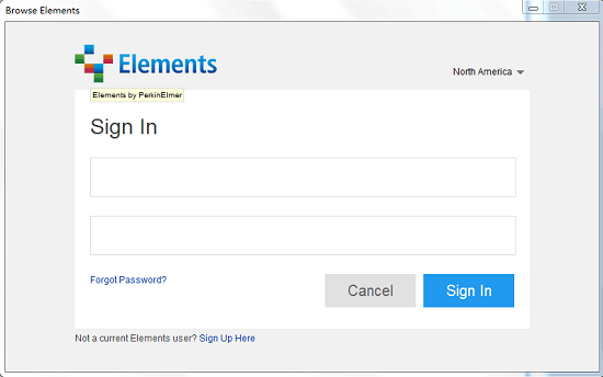 注册Elements窗口