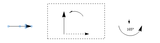 ChemDraw结构旋转过程