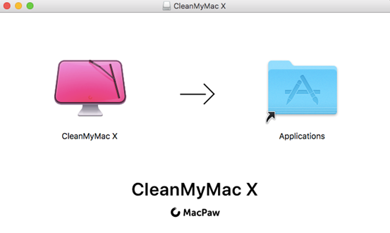 CleanMyMac X安装界面