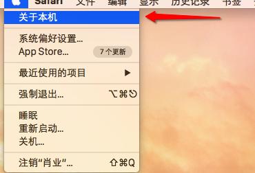 查看mac磁盘储存信息