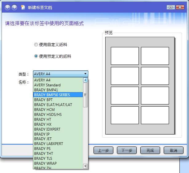 预定义文档格式