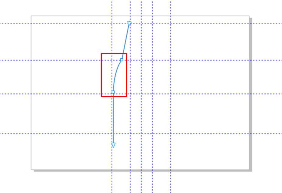 图9:调整线条2的弧度