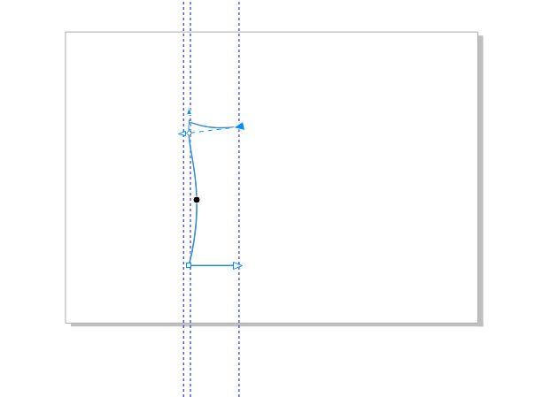 图6:调整线条弧度