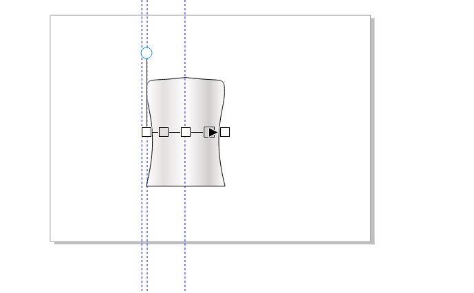 图12:完成瓶身的渐变效果制作