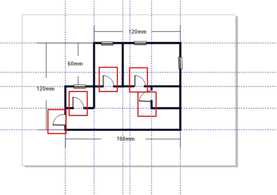 图11:放置门结构