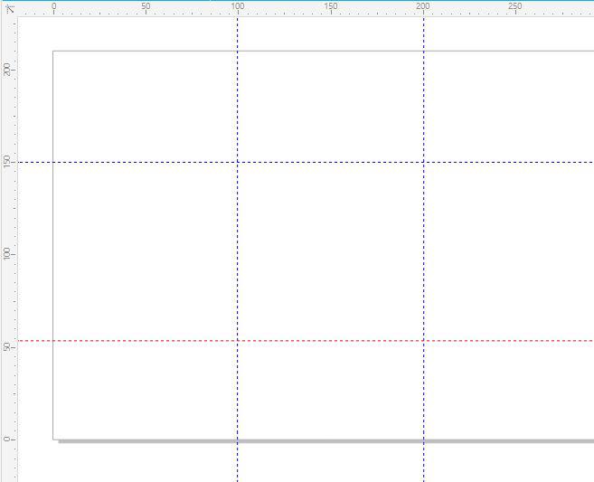 图1:CorelDRAW辅助线