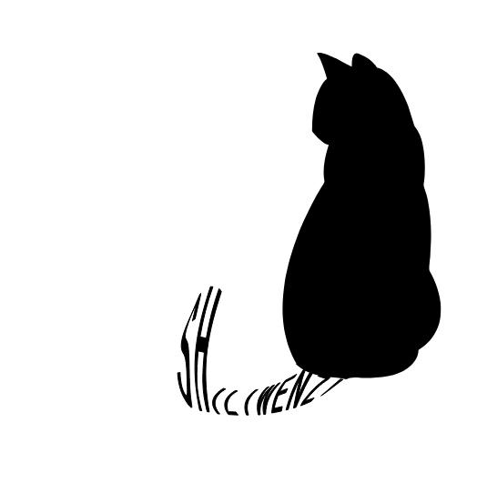 图6:文字替换尾巴效果